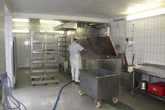 Die Zukunft im Blick - Die neuen Produktionsräumlichkeiten werden seit Juni 2009 genutzt